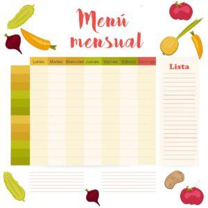 menú-mensual
